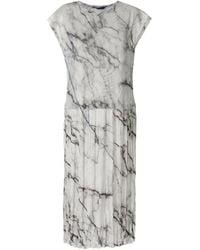 UMA | Raquel Davidowicz Carpenter Midi Dress - White
