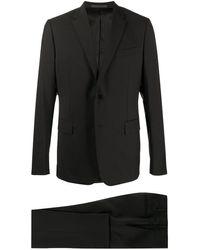 Valentino シングルスーツ - ブラック