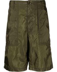 Engineered Garments Fatigue Ripstop Bermuda Shorts - Green