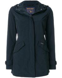Woolrich - Slim-fit Hooded Raincoat - Lyst