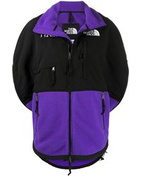 MM6 by Maison Martin Margiela X The North Face Circle Two-tone Jacket - Purple