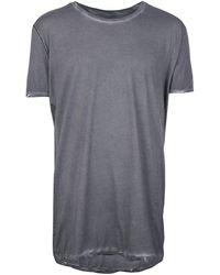 Army Of Me Camiseta slim con efecto envejecido - Gris