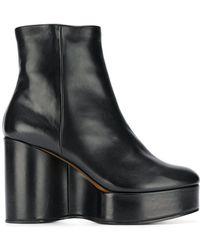 Clergerie - Belen Wedge Boots - Lyst