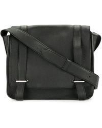 Hermès Steve Caporal Crossbodytas - Zwart
