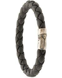 John Hardy 'Bamboo' Armband - Schwarz