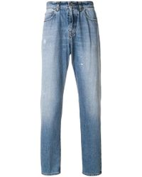 Eleventy - Faded Slim Fit Jeans - Lyst