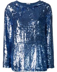 P.A.R.O.S.H. - Sequin Hoodie - Lyst