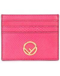 Fendi Ff カードケース - ピンク