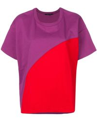 Sofie D'Hoore Color Block Top - Pink