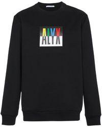 1017 ALYX 9SM Толстовка С Круглым Вырезом С Логотипом - Черный