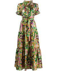 LaDoubleJ Sassy ロング シャツドレス - ピンク