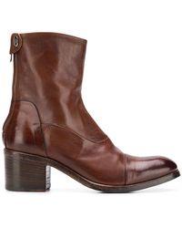 Alberto Fasciani - Maya Heeled Ankle Boots - Lyst