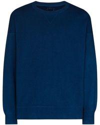 Visvim Sweat à coutures apparentes - Bleu