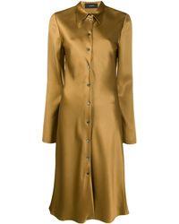 JOSEPH Платье-рубашка Длины Миди - Многоцветный