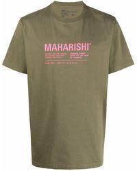 Maharishi ロゴ Tシャツ - グリーン