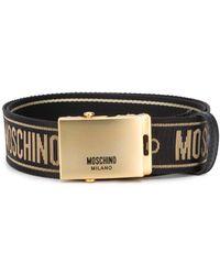 Moschino - ロゴ ベルト - Lyst