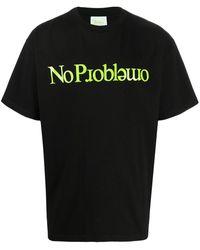 Aries No Problemo Tシャツ - ブラック