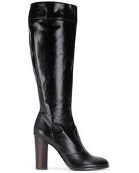 Marc Jacobs Block Heel Boots - Black