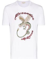 Alexander McQueen - ロゴ Tシャツ - Lyst