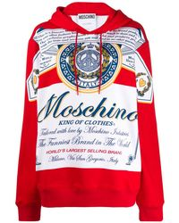 Moschino King Of Clothes パーカー - レッド