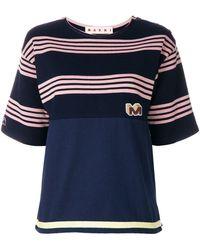 Marni - ボーダーtシャツ - Lyst