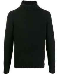 Dell'Oglio タートルネック セーター - ブラック