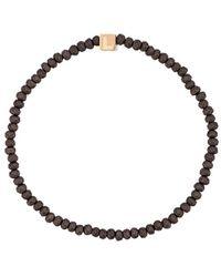 Luis Morais Cubed Letter Bracelet - Black