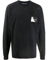 United Standard ウォッシュド スウェットシャツ - ブラック