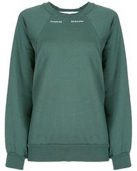 PROENZA SCHOULER WHITE LABEL スウェットシャツ - グリーン