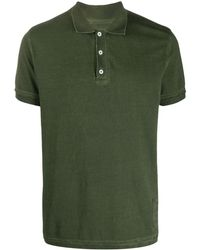 Zadig & Voltaire Short Sleeve Polo Shirt - Green