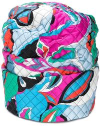 Emilio Pucci - Roll Bottom Quilted Hat - Lyst