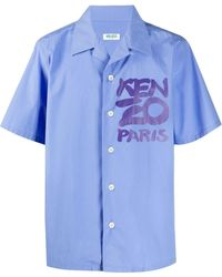 KENZO - ロゴ シャツ - Lyst