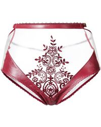 Loveday London - Zerena High Waisted Brief - Lyst