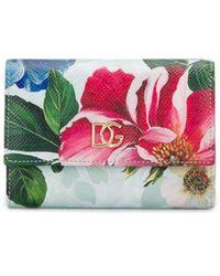 Dolce & Gabbana Portemonnee Met Bloemenprint - Meerkleurig
