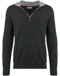 N.Peal Cashmere The Carnaby セーター - ブラック