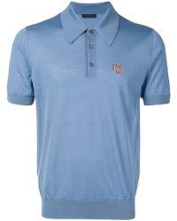 Prada ポロシャツ - ブルー