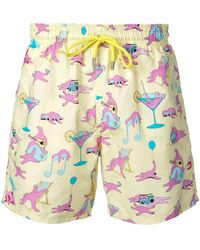 Vilebrequin - Printed Swimming Trunks - Lyst