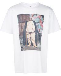 R13 プリント Tシャツ - ホワイト