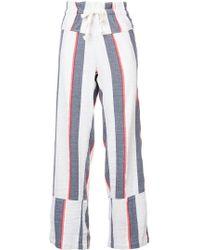 lemlem - Striped Straight Trousers - Lyst