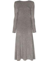 Mara Hoffman リブニット ドレス - ブラック