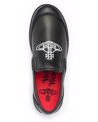 Vivienne Westwood Slip-On-Sneakers mit Logo - Schwarz