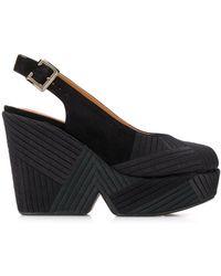 Robert Clergerie Dori Chevre 115mm Sandals - Black