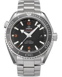 Omega Наручные Часы Seamaster Planet Ocean Pre-owned 45.5 Мм 2008-го Года - Черный