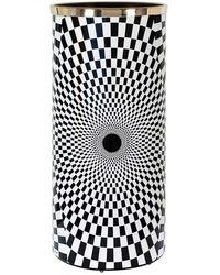 Fornasetti Pot à parapluie Egocentrism - Noir