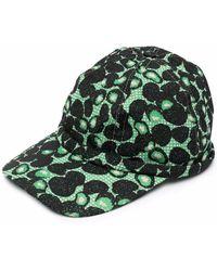 Henrik Vibskov Berries Motif Embroidery Cap - Black