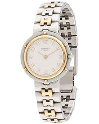 Hermès Наручные Часы Clipper Pre-owned - Металлик