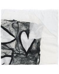 Faliero Sarti - Webbed Heart Scarf - Lyst