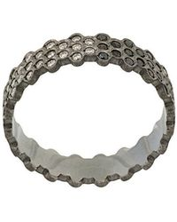 Savoir Joaillerie - 14kt White Gold And Diamonds She Ring - Lyst