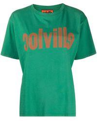 Colville Футболка С Логотипом - Зеленый
