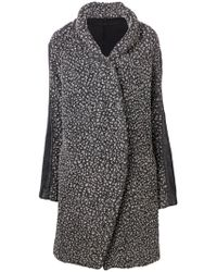 Masnada - Kimono Knit Coat - Lyst